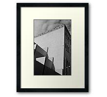 Urban Geometry Framed Print