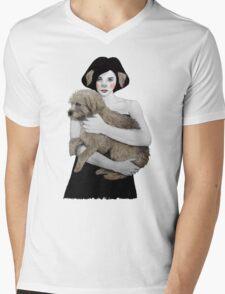 Rena Mens V-Neck T-Shirt