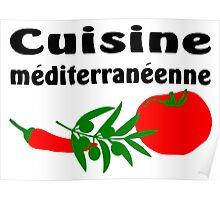 Mediterranean cuisine Poster