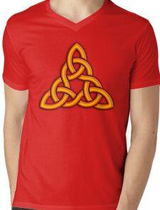 Celtic interlace Mens V-Neck T-Shirt