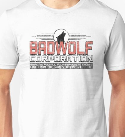 Distressed Bad Wolf Unisex T-Shirt