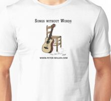 Guitar and Chair by Peter Miller Unisex T-Shirt