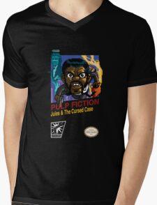 Pulp Fiction: 8 Bit Style Mens V-Neck T-Shirt