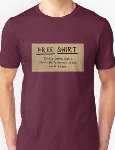 "Frances Ha ""FREE CHAIR"" sign t-shirt parody Unisex T-Shirt"