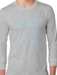 Quints Deep Sea Fishing Distressed Long Sleeve T-Shirt