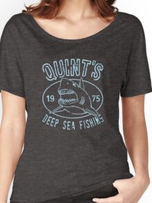 Quints Deep Sea Fishing Distressed Women's Relaxed Fit T-Shirt