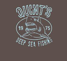 Quints Deep Sea Fishing Distressed Unisex T-Shirt