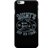 Quints Deep Sea Fishing Distressed iPhone Case/Skin