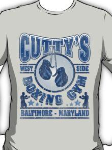 Cuttys Gym Distressed T-Shirt