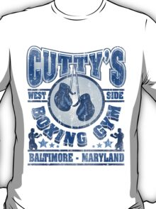 Cuttys Gym Distressed T-Shirt