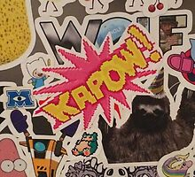 My sticker collection by Jyles Lulham