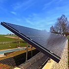 Solar panels in amazing perspective view | architectural photography by Patrick Jobst