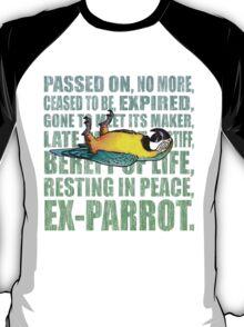 Ex Parrot Distressed T-Shirt