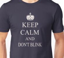Doctor who - don't blink Unisex T-Shirt