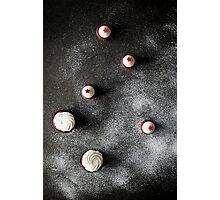 Cupcakes & Snowflakes Photographic Print