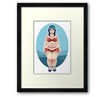Fat is Not a Bad Word Framed Print