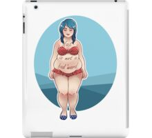 Fat is Not a Bad Word iPad Case/Skin