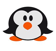 Sweet cute little Penguin baby child by Style-O-Mat