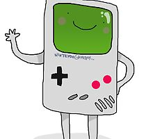 Cute Gameboy T-shirt by Foxygamer