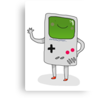 Cute Gameboy T-shirt Canvas Print