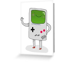 Cute Gameboy T-shirt Greeting Card
