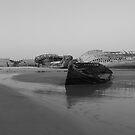 old boats by Elie Le Goc