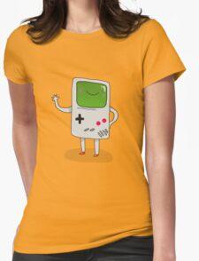 Cute Gameboy T-shirt Womens Fitted T-Shirt