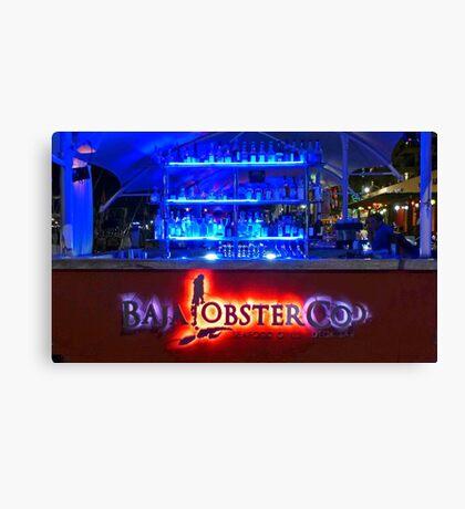 Baja Lobster Company Canvas Print