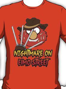 Nightmare on elmo street. Horror. T-Shirt