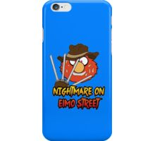 Nightmare on elmo street. Horror. iPhone Case/Skin