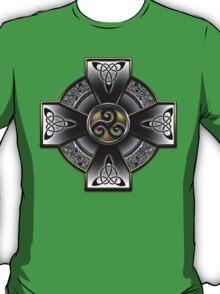 Black Celtic Cross T-Shirt