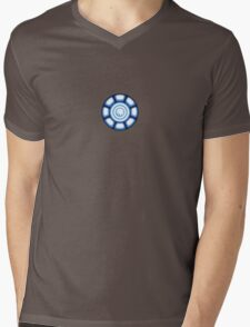 Power Coil Chest Mens V-Neck T-Shirt