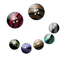 button eyes Photographic Print
