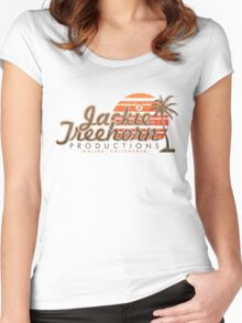 Jackie Treehorn Productions Women's Fitted Scoop T-Shirt