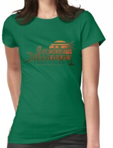 Jackie Treehorn Productions Womens Fitted T-Shirt