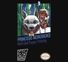 Princess Mononoke 8 Bit Style by shirtendo