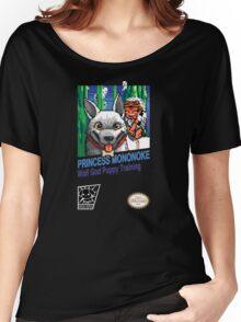 Princess Mononoke 8 Bit Style Women's Relaxed Fit T-Shirt