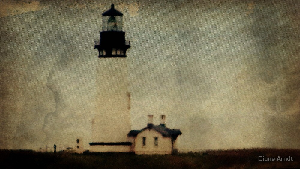 Yaquina Head Lighthouse..Newport, Oregon by Diane Arndt