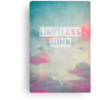 limitless mind Canvas Print