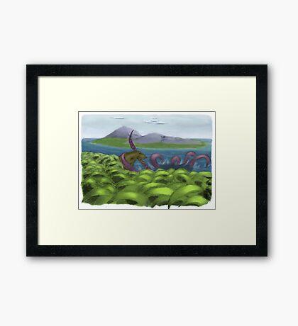 Amazing Paleontology Framed Print