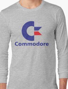 Commodore Logo Long Sleeve T-Shirt