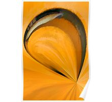 Rustic Layers Abstract Poster