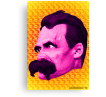 Nietzsche Multi-Heads 1 - by Rev. Shakes  Canvas Print