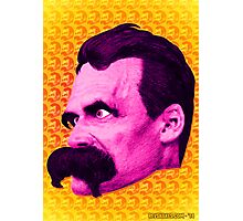 Nietzsche Multi-Heads 1 - by Rev. Shakes  Photographic Print