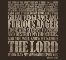 Ezekiel 25:17 by 8balltshirts