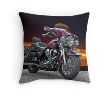 1997 Harley-Davidson Road King I Throw Pillow