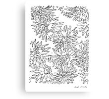 LINE : Overlap. Canvas Print