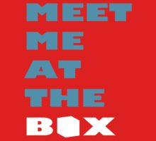 Meet Me At The Box - Workout And Weight Lifting Inspiration  Baby Tee