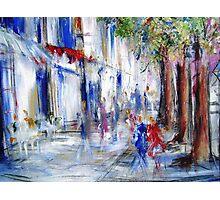 Semi abstract street scene  Photographic Print