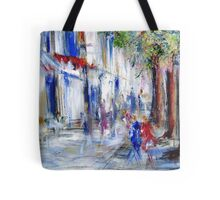 Semi abstract street scene  Tote Bag
